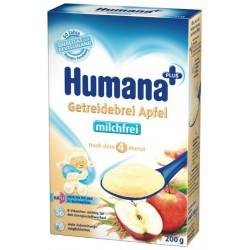 Безмлечна каша от ябълки Хумана 0.250