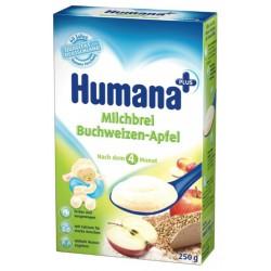 Млечна каша от елда и ябълка Хумана 250g