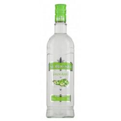 Водка Собиески зелена ябълка 0,700