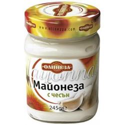 Майонеза с чесън Олинеза 230g буркан