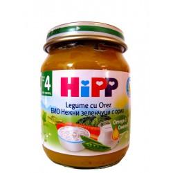 Хип Био нежни зеленчуци с ориз 0.125