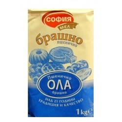 Брашно пшенично Ола София мел 1kg