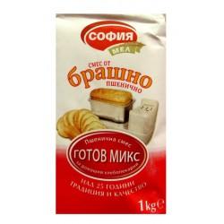 Брашно пшенично готов микс София мел 1kg