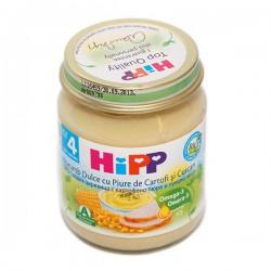 Хип Био пюре сладка царевица, картофено пюре и пуешко 0.125