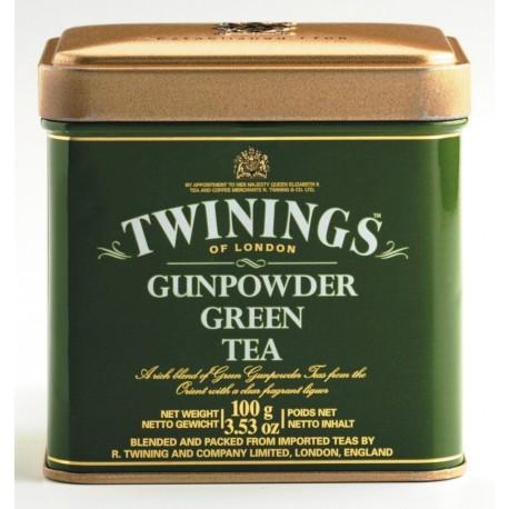 TWININGS Green Tea metal box 100