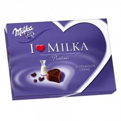 БОНБОНИЕРА I LOVE MILKA ALPINE MILK CREAM 120g