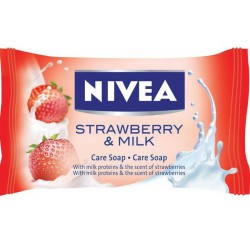 Сапун Nivea Strawberry&Milk 90g