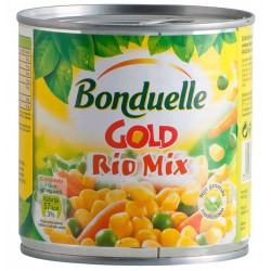 Bonduelle Rio Mix 425ml царевица/грах/ моркови