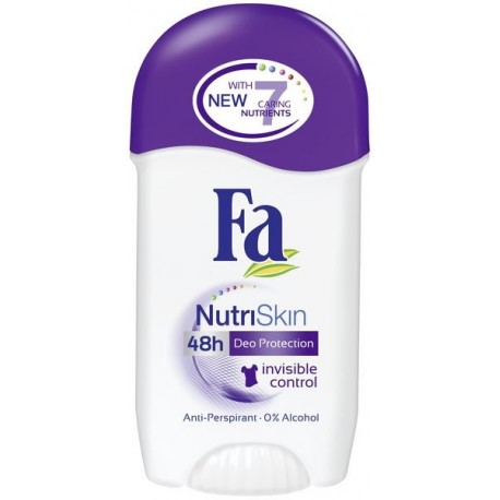 Дезодорант стик Fa NutriSkin невидим контрол 50ml