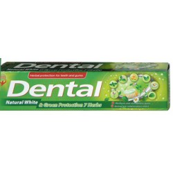 Паста за зъби DENTAL NATURAL WHITE&GREEN PROTECTION 7 HERBS 100ml