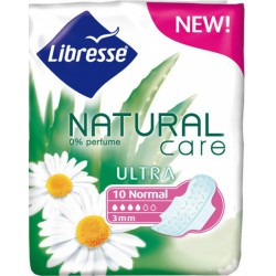 Превръзки LIBRESSE Ultra Natural Care Normal 10бр.
