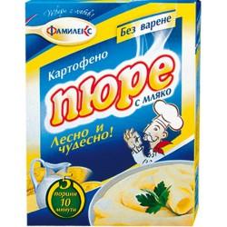 Картофено пюре с мляко Меркурий 125g
