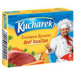 Бульон Kucharek телешки 6X10g