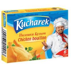 Бульон Kucharek пилешки 6X10g