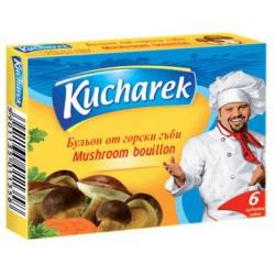 Бульон Kucharek гъбен 6X10g