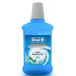ВОДА ЗА УСТА ORAL B COMPLETE ANTIBACTERIAL 500ml