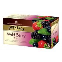 Черен чай с горски плодове Twinings 25