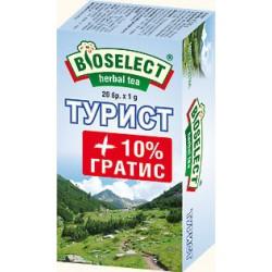 Чай Bioselect Турист 1g/20бр.