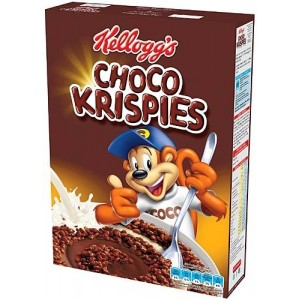 Kellogg's Зърнена закуска Чоко Криспис 375g