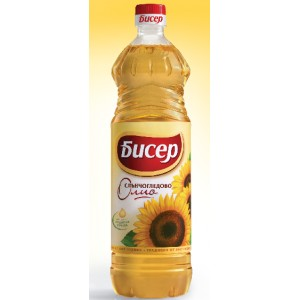 Слънчогледово олио Бисер 2l