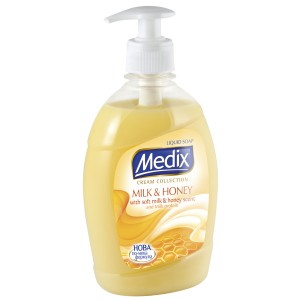 Сапун Medix течен Milk&Honey 400ml
