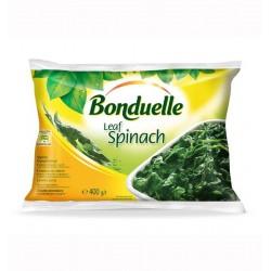 Замразен спанак на листа Бондюел 400 g