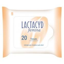 Интимни кърпички LACTACYD 20бр.