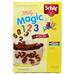 Зърнена закуска без глутен MILLY MAGIC 1-2-3 Д-Р ШАР 250g