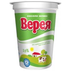 Кисело мляко Верея 2,9% 400g