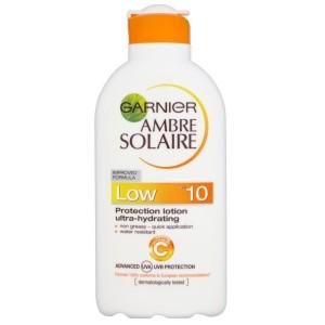 Слънцезащитно мляко Garnier Ambre Solaire SPF10 200ml