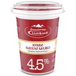 КИСЕЛО МЛЯКО 4,5% МАДЖАРОВ 400g