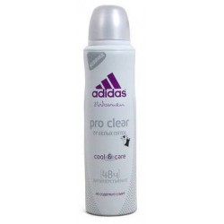 Спрей Deo Adidas Cool&Care Pro clear 150ml