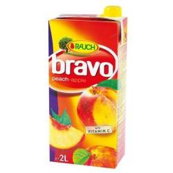 Напитка BRAVO ПРАСКОВА-ЯБЪЛКА 50% 2l