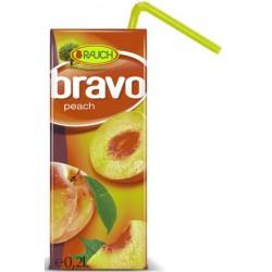 Напитка BRAVO Праскова-Ябълка 50% 200ml