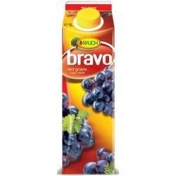 Напитка BRAVO Червено грозде 12% 1l