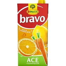Напитка BRAVO ACE Портокал, морков, лимон 30% 2l