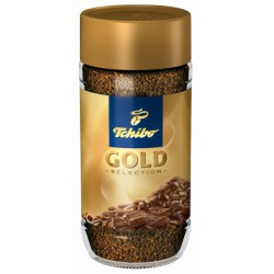 Кафе Tchibo gold selection инстантно 200g