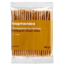 Био пълнозърнести солети Harmonica 60g