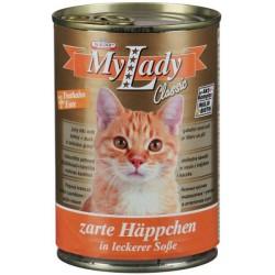 Котешка храна My Lady пуйка и патица 415g