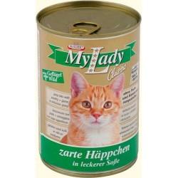 Котешка храна My Lady птиче месо и дивеч 415g