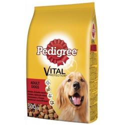 Храна за кучета Pedigree 500g говеждо и птиче месо
