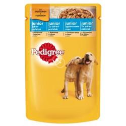 Храна за кучета Pedigree Pouch Джуниър 100g Пилешко месо и ориз
