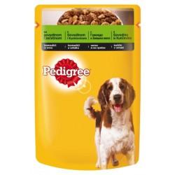 Храна за кучета Pedigree 100g говеждо и заешко