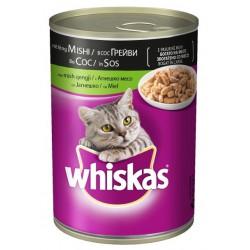 Храна за котки Whiskas консерва Агнешко 400g