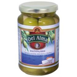 Mаслини зелени с бадем Del Alma 360g