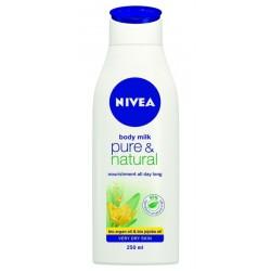 Мляко за тяло Nivea Pure & Natural 250ml