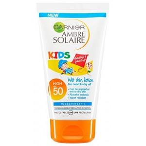 Слънцезащитен лосион за деца Garnier Ambre Solaire SPF50 150ml