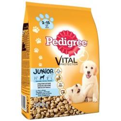 Храна за кучета Pedigree Junior Пилешко и ориз 500g