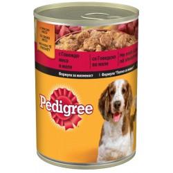 Храна за кучета Pedigree Говеждо месо консерва 400g
