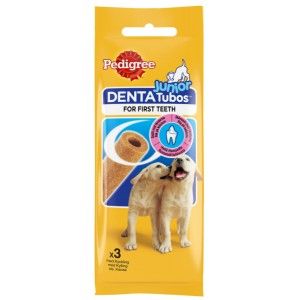 Храна за кучета Pedigree DentaTubos Junior 3бр. 72g